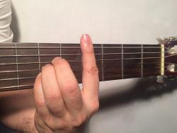 تمامی آکوردهای گیتار