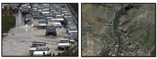 مطالعه، آسیب و مدیریت سیلاب های شهر تهران